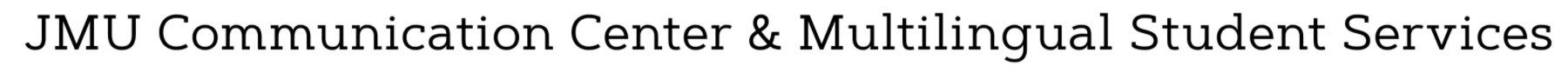 CommCenter/Multilingual Services Logo
